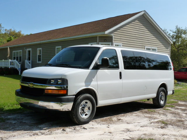 Sell Used 2012 Chevrolet Express 3500 Lt Extended Pass